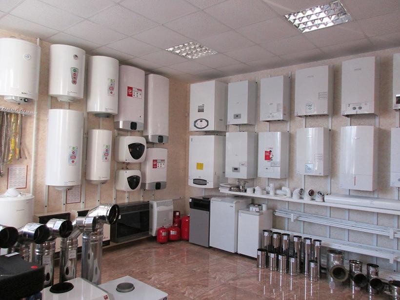Магазин и сервисный центр газового оборудования в Кольчугино